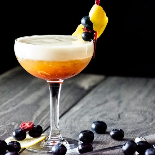 Bourbon Madness Sour