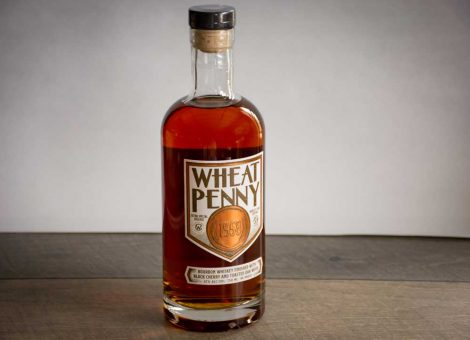 Wheat Penny 1958 Bourbon